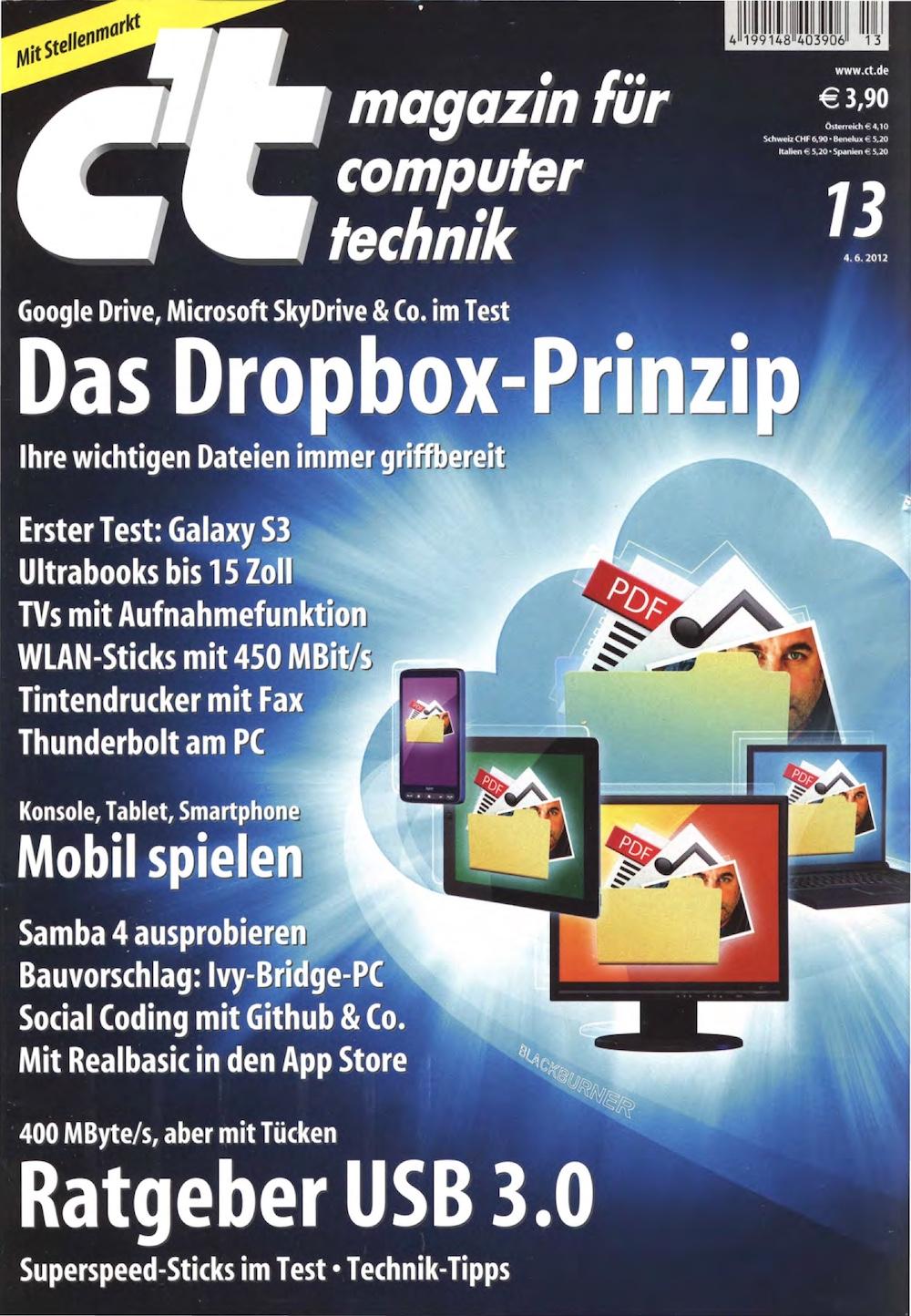 c't Magazin 2012-13