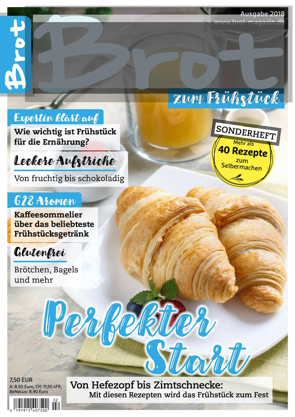 Brot Sonderheft zum Frühstück 2018