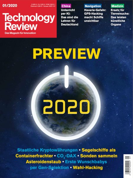 Technology Review 2020-01