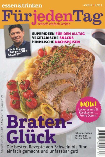 Essen & Trinken für jeden Tag 2017-04