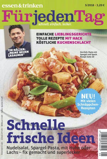 Essen & Trinken für jeden Tag 2018-05