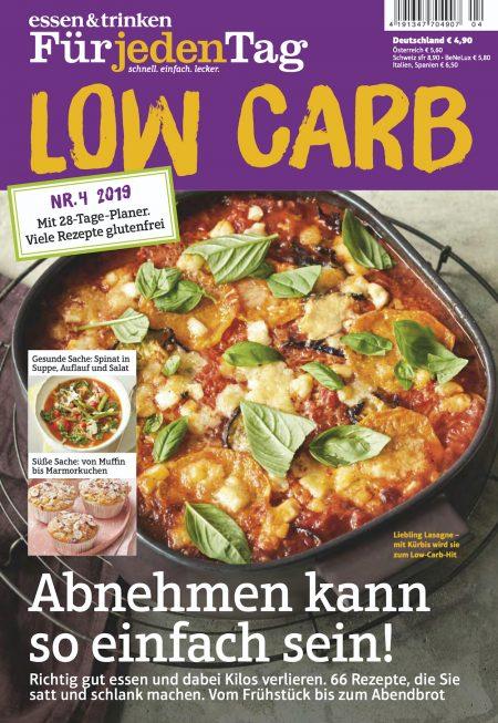 Essen & Trinken für jeden Tag Sonderheft Low Carb 2019-04