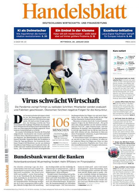 Handelsblatt 2020-01