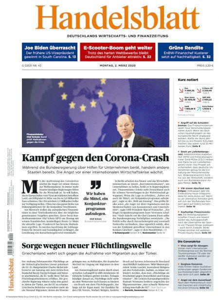 Handelsblatt 2020-03