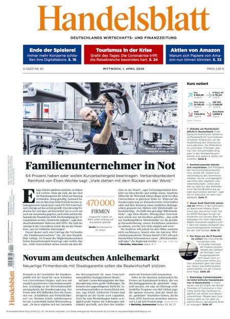 Handelsblatt 2020-04