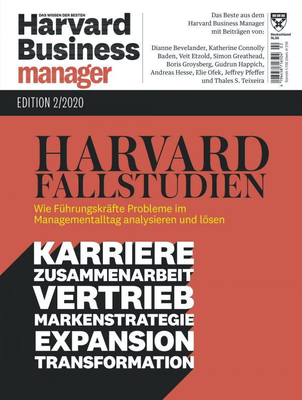 Harvard Business Manager Edition 2020-02