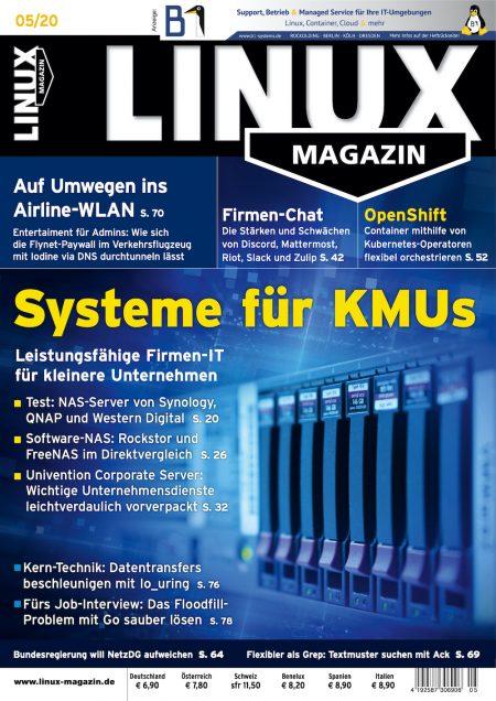 Linux Magazin 2020-05