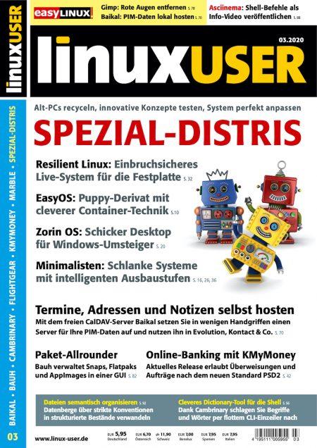 Linux User 2020-03