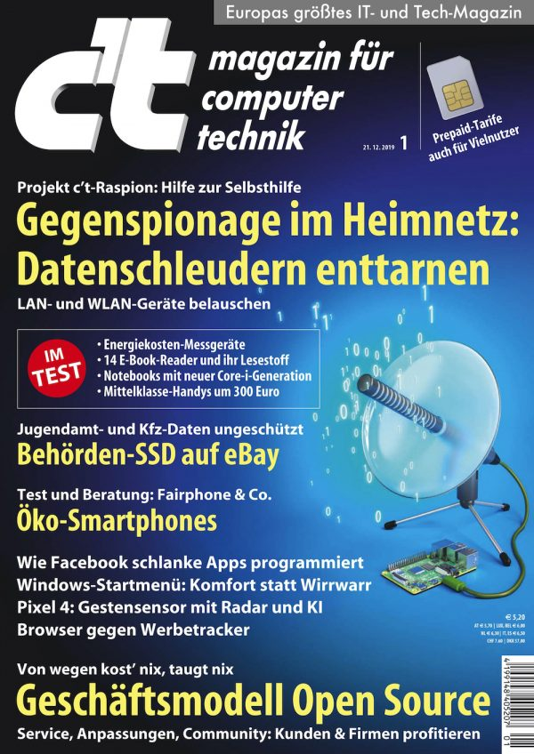 c't Magazin 2020-01