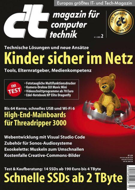 c't Magazin 2020-02