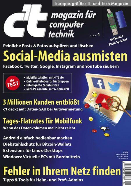 c't Magazin 2020-04