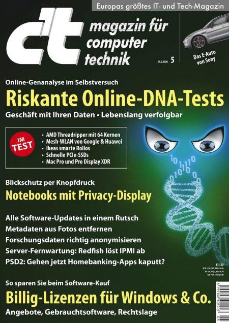 c't Magazin 2020-05