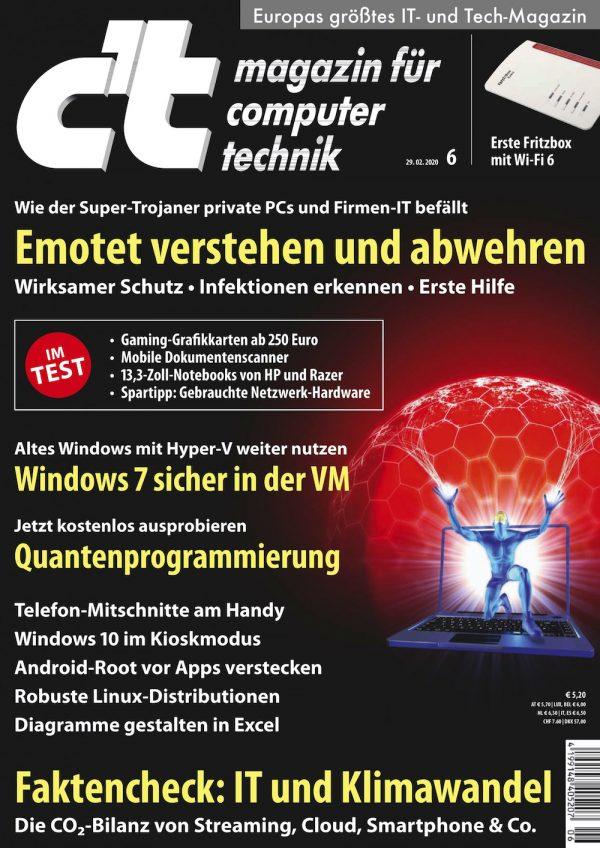 c't Magazin 2020-06
