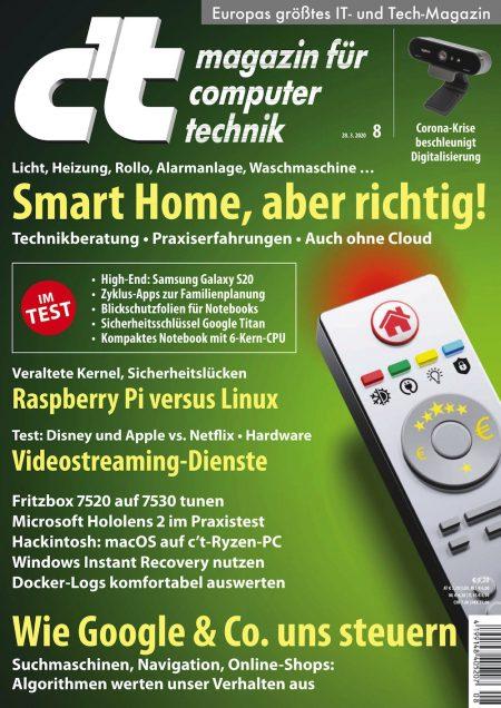 c't Magazin 2020-08