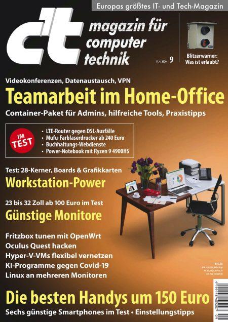 c't Magazin 2020-09