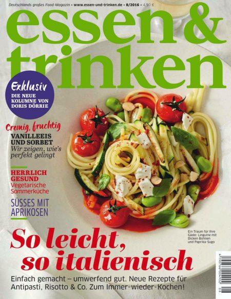 Essen & Trinken 2016-08