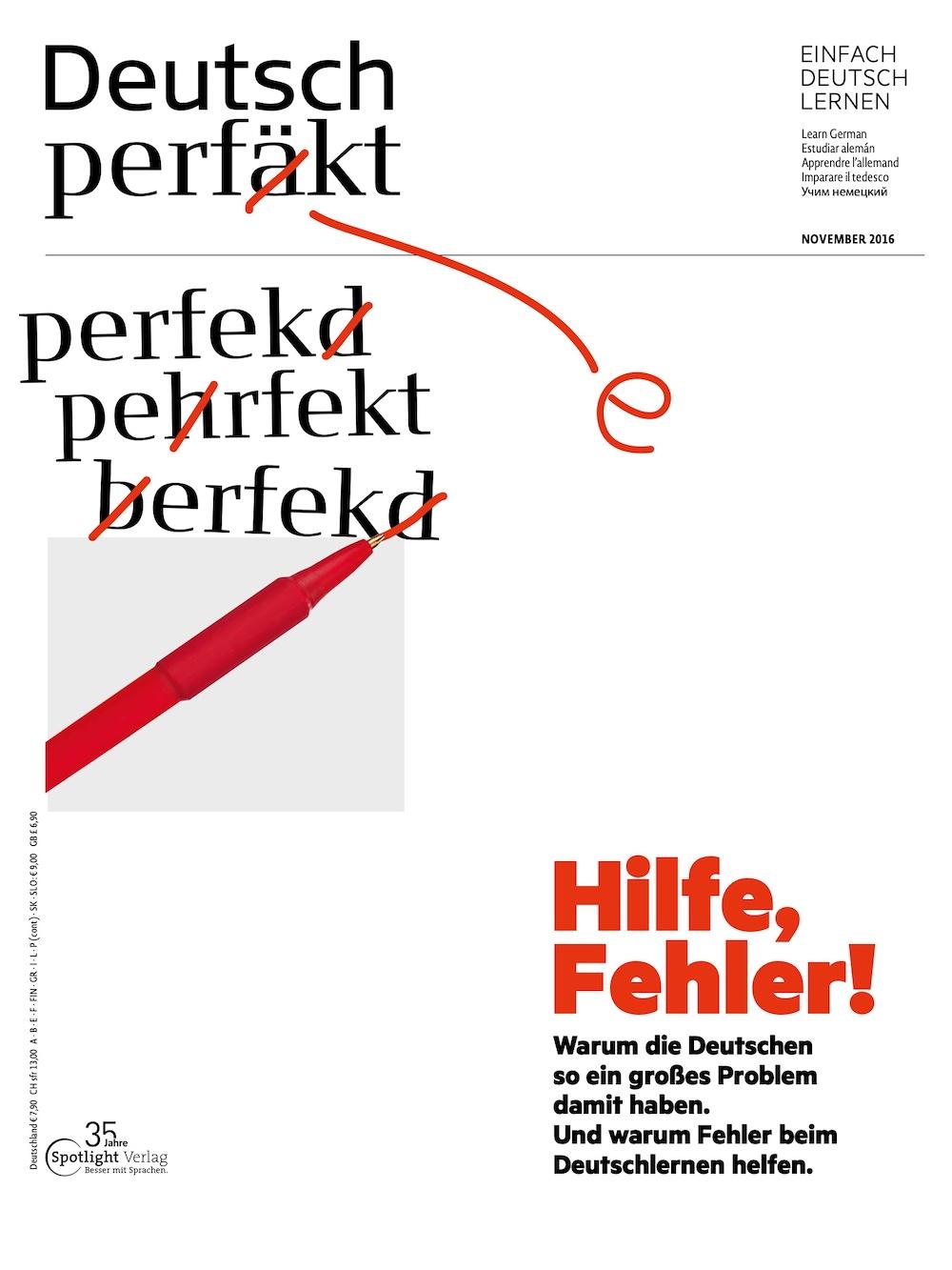 Deutsch Perfekt 2016-11