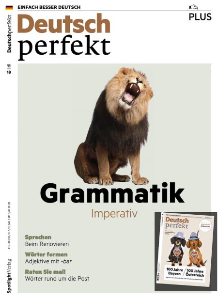 Deutsch Perfekt Plus 2018-11
