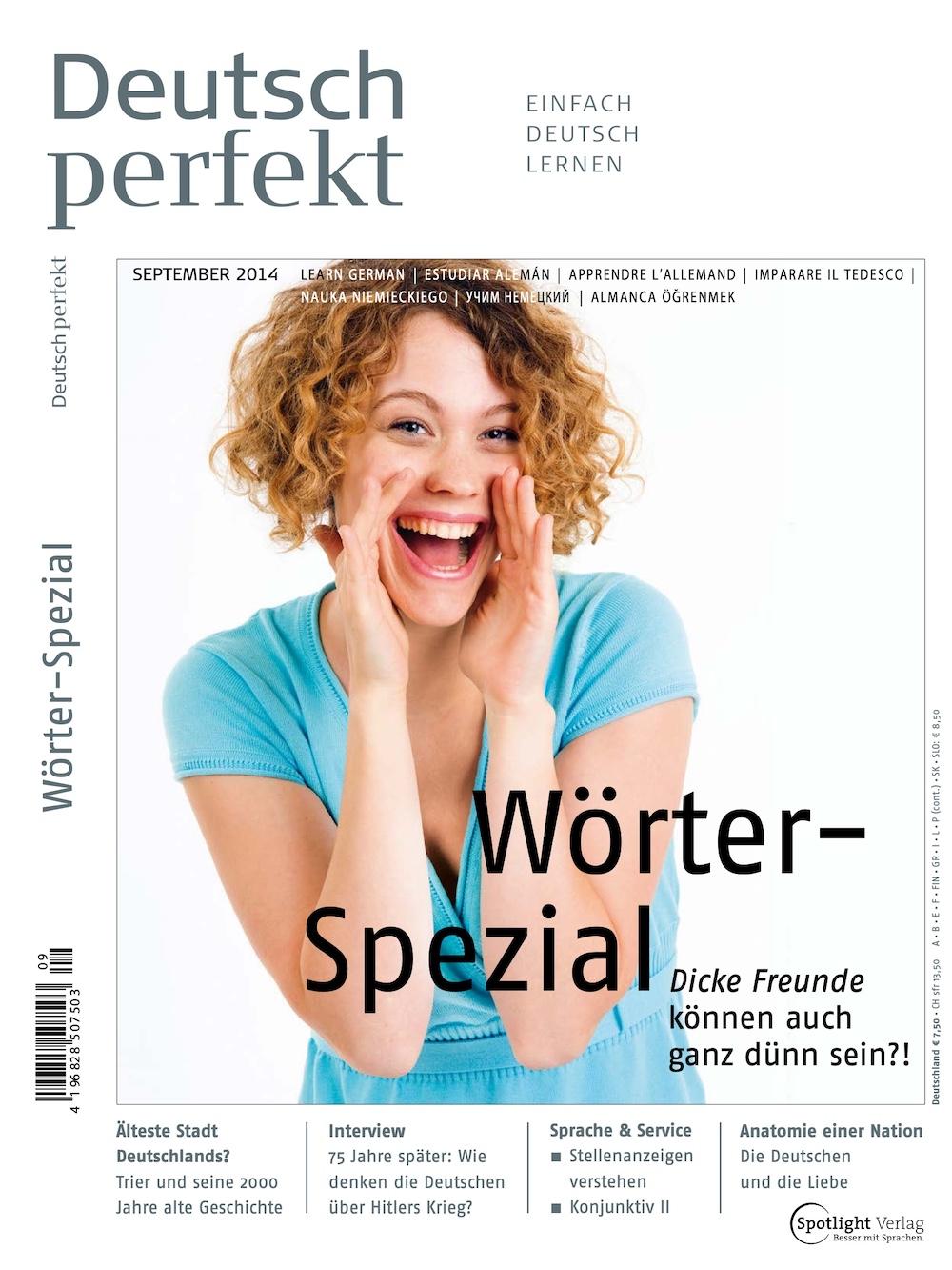 Deutsch Perfekt 2014-09