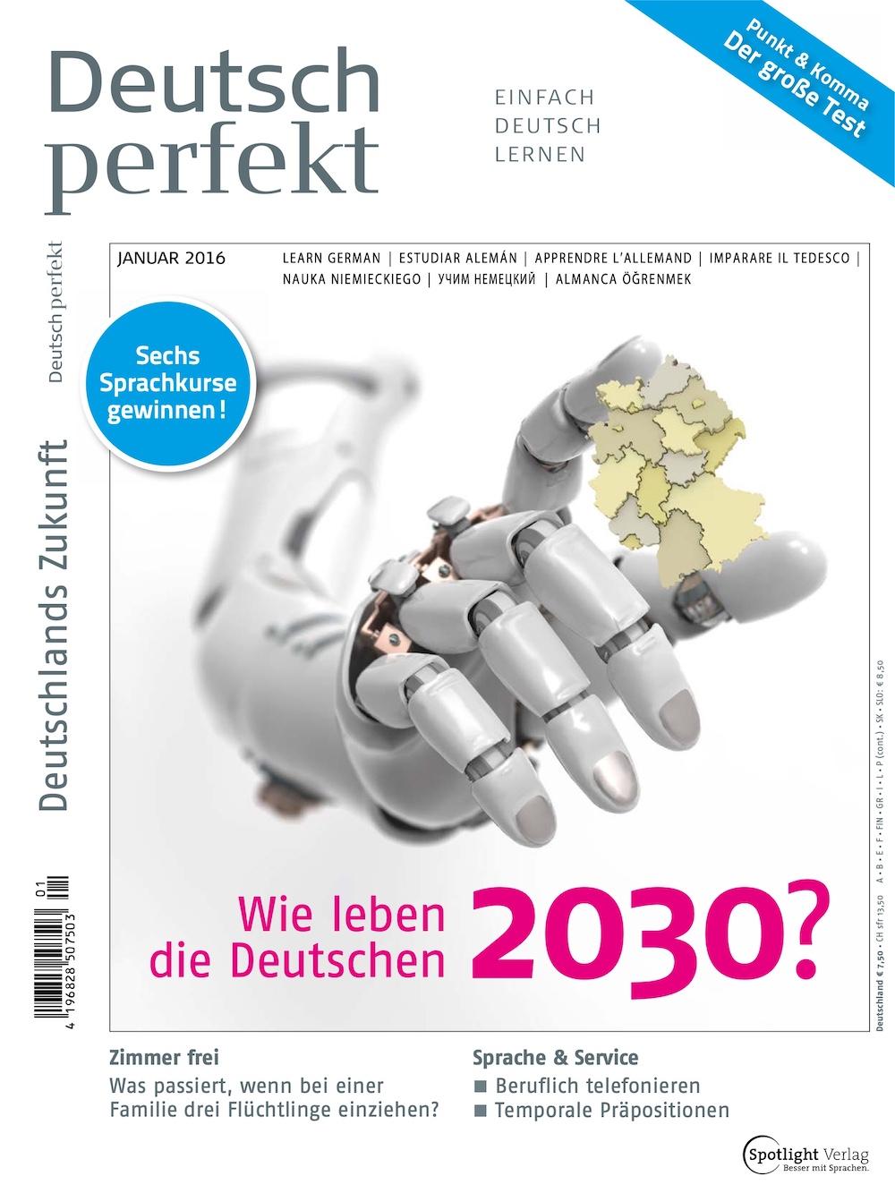 Deutsch Perfekt 2016-01