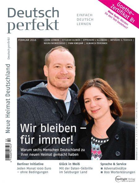 Deutsch Perfekt 2016-02