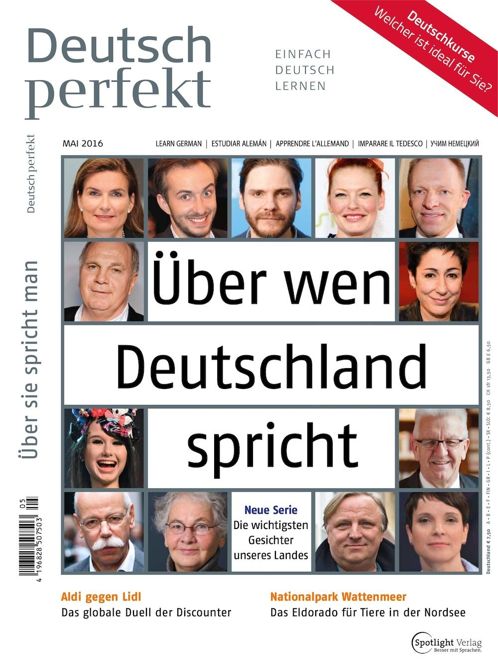 Deutsch Perfekt 2016-05
