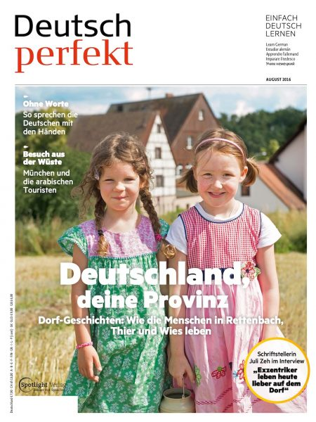 Deutsch Perfekt 2016-08