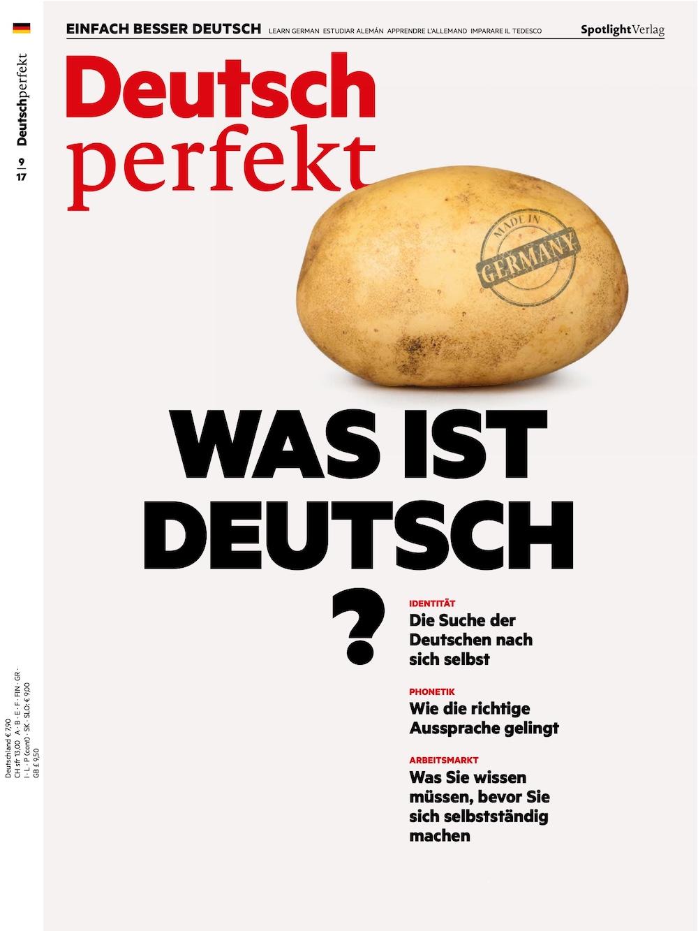 Deutsch Perfekt 2017-09