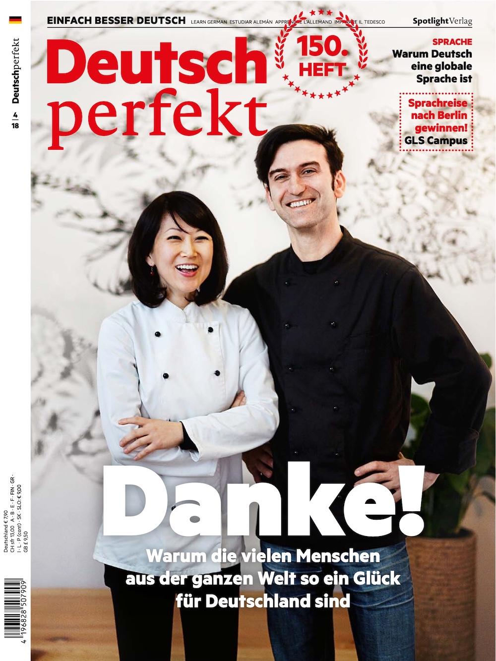 Deutsch Perfekt 2018-04