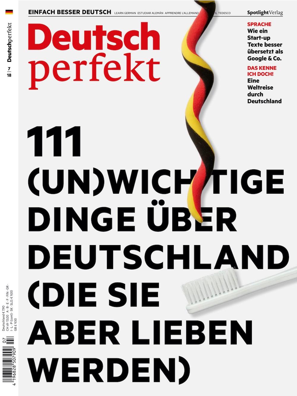 Deutsch Perfekt 2018-07