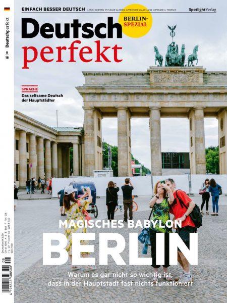 Deutsch Perfekt 2018-08