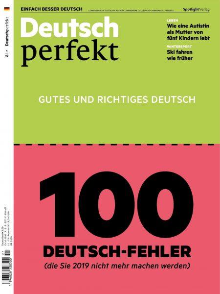 Deutsch Perfekt 2019-01