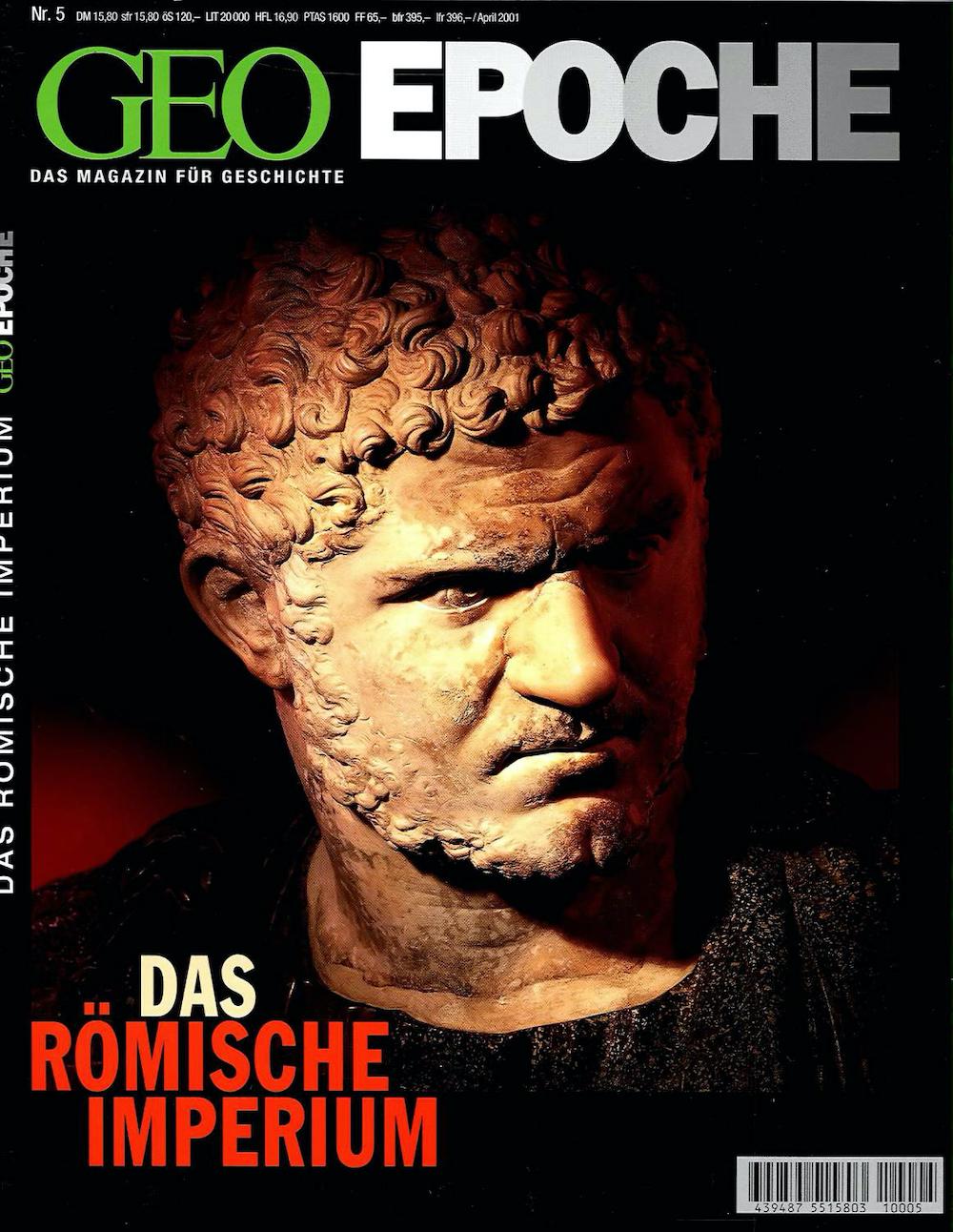 GEO Epoche 2001-05 Das römische Imperium