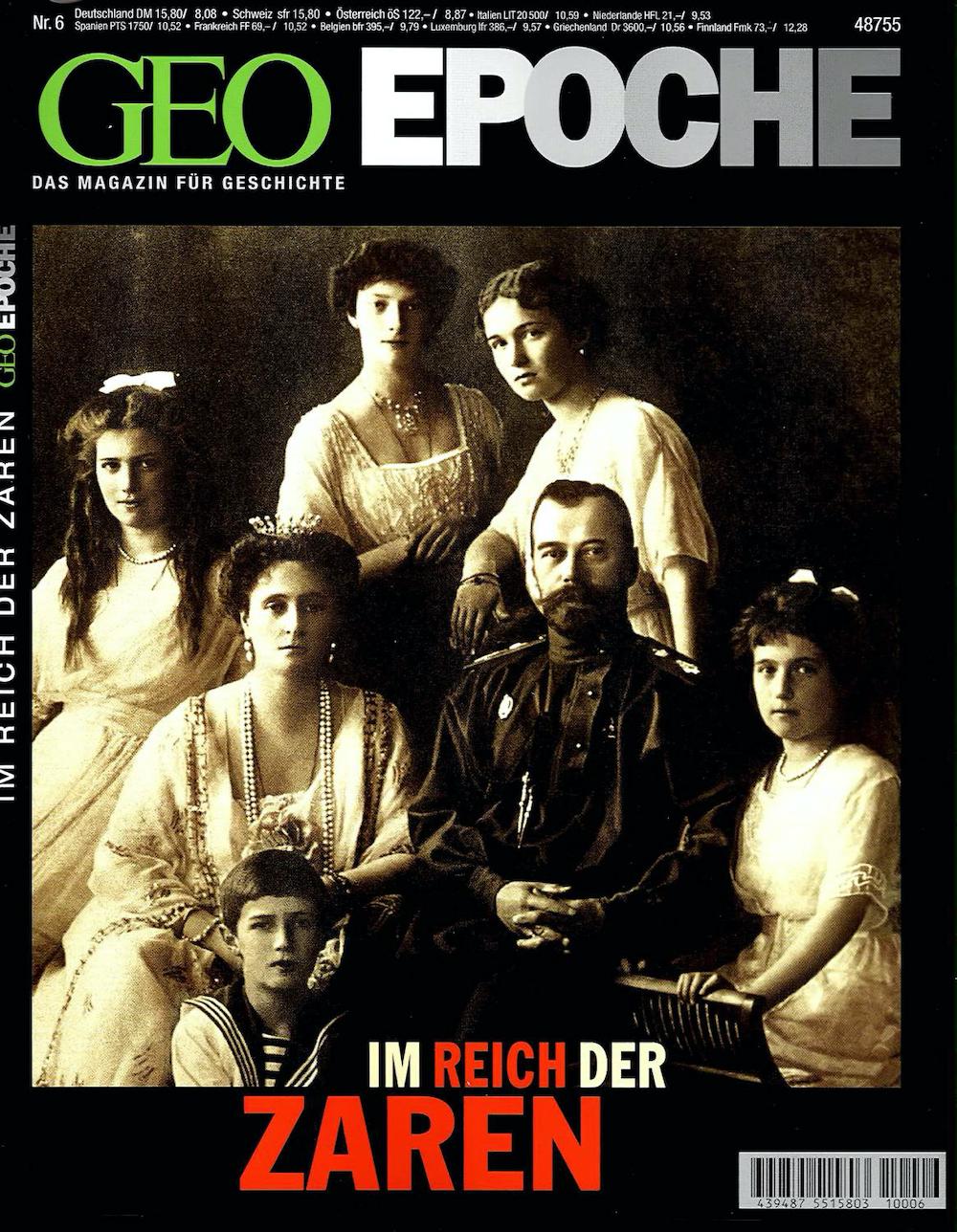 GEO Epoche 2001-06 Im Reich der Zaren