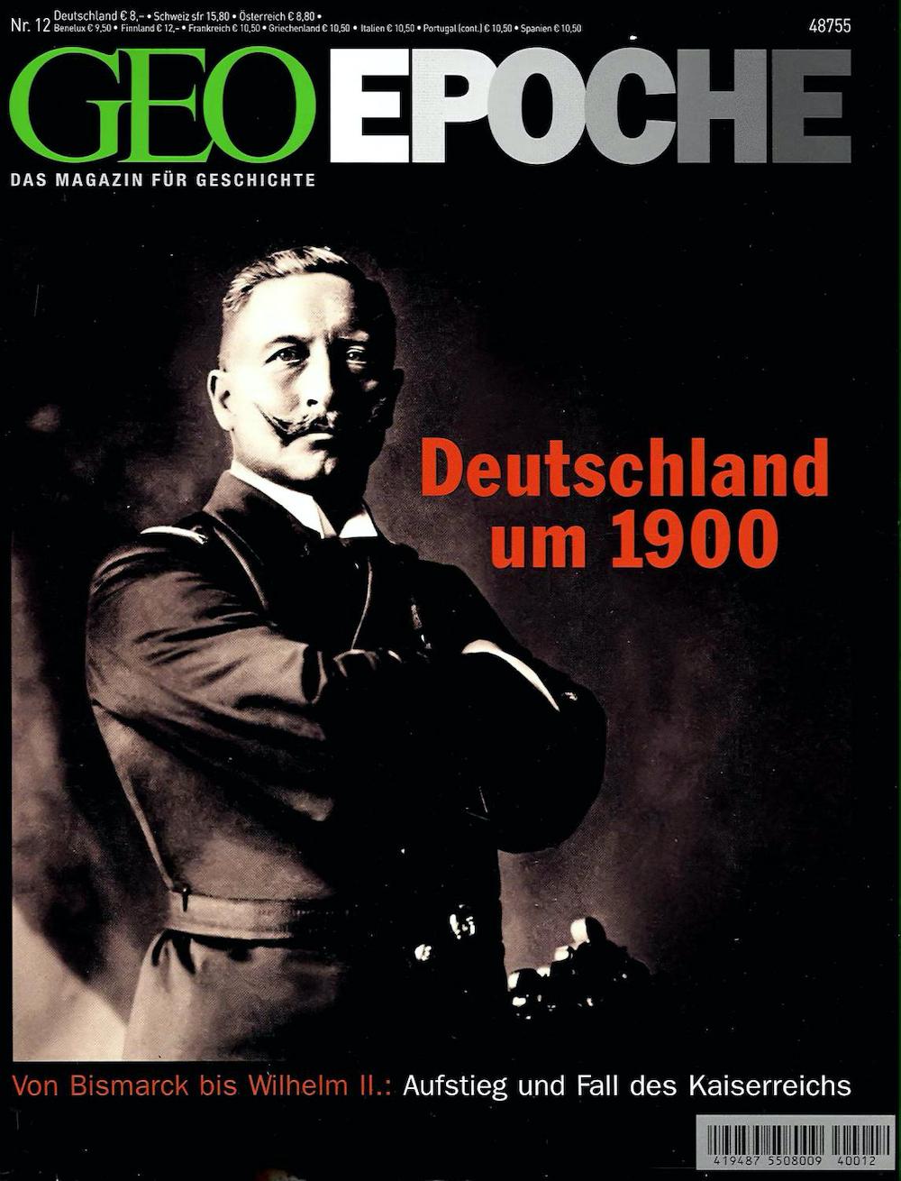 GEO Epoche 2004-12 Deutschland um 1900