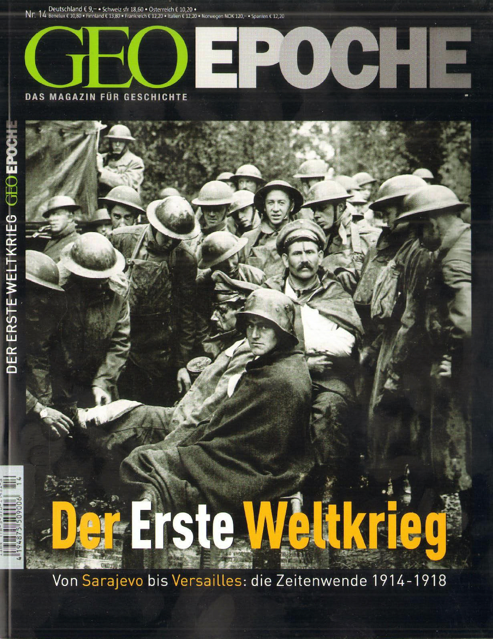 GEO Epoche 2004-14 Der Erste Weltkrieg
