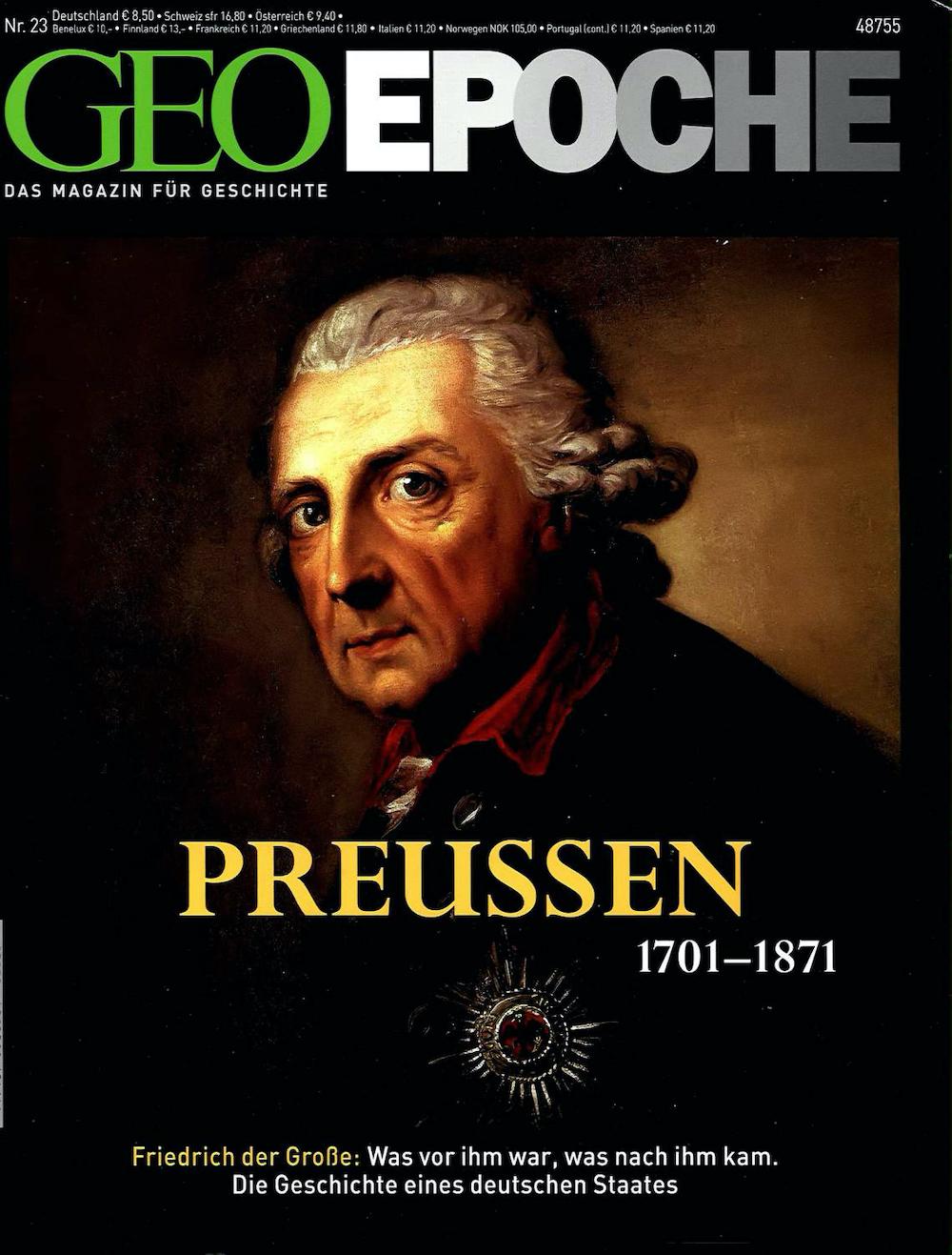 GEO Epoche 2006-23 Preussen