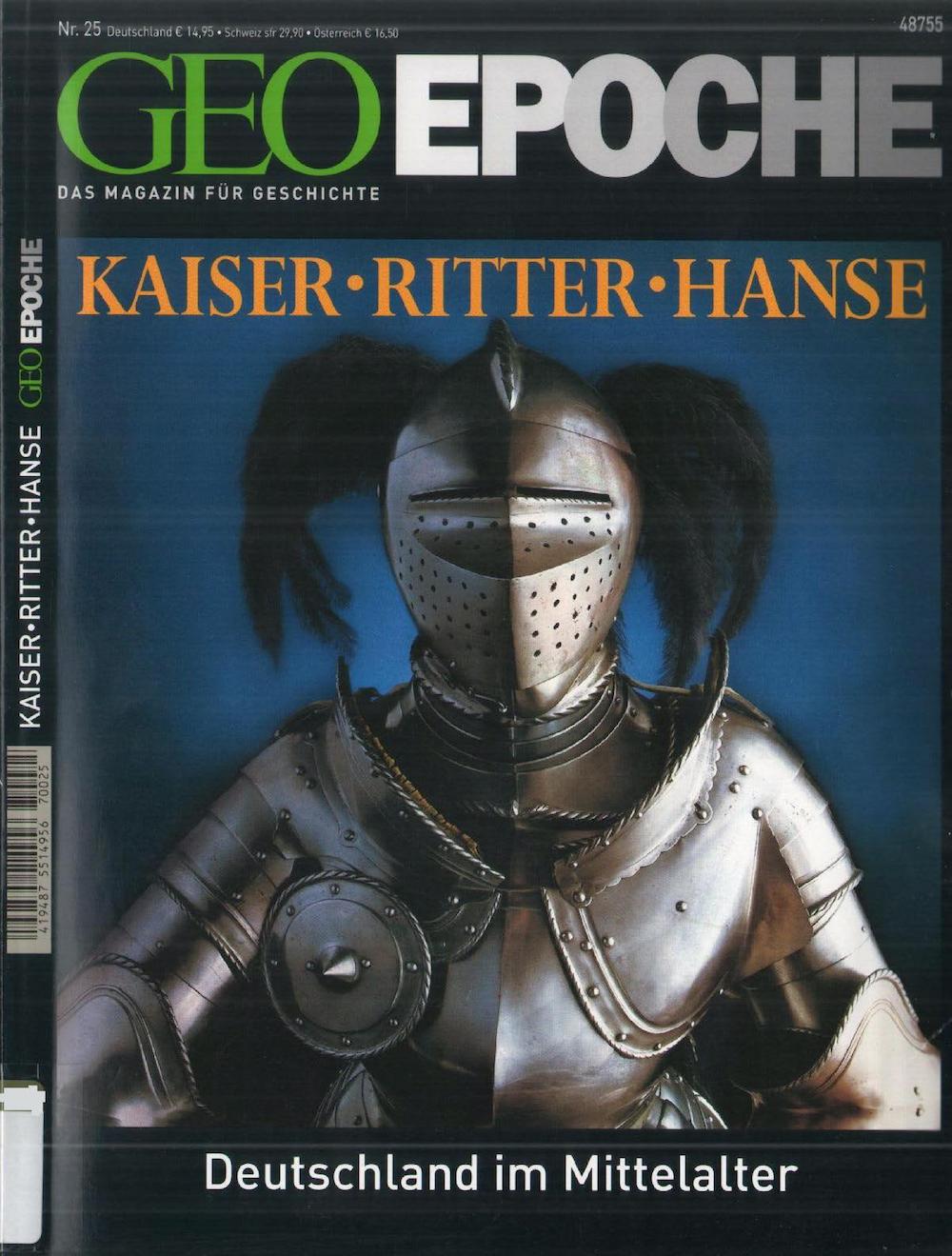 GEO Epoche 2007-25 Deutschland im Mittelalter