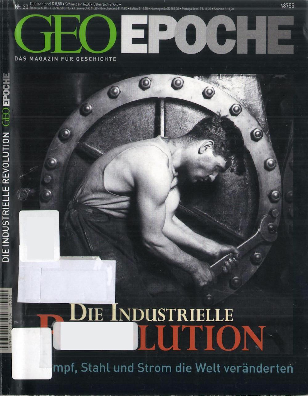 GEO Epoche 2008-30 Die Industrielle Revolution