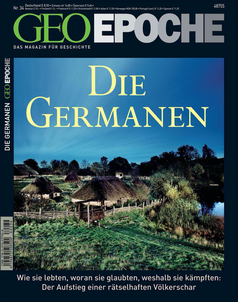GEO Epoche 2008-34 Die Germanen