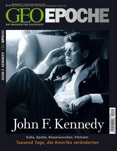 GEO Epoche 2010-40 John F. Kennedy