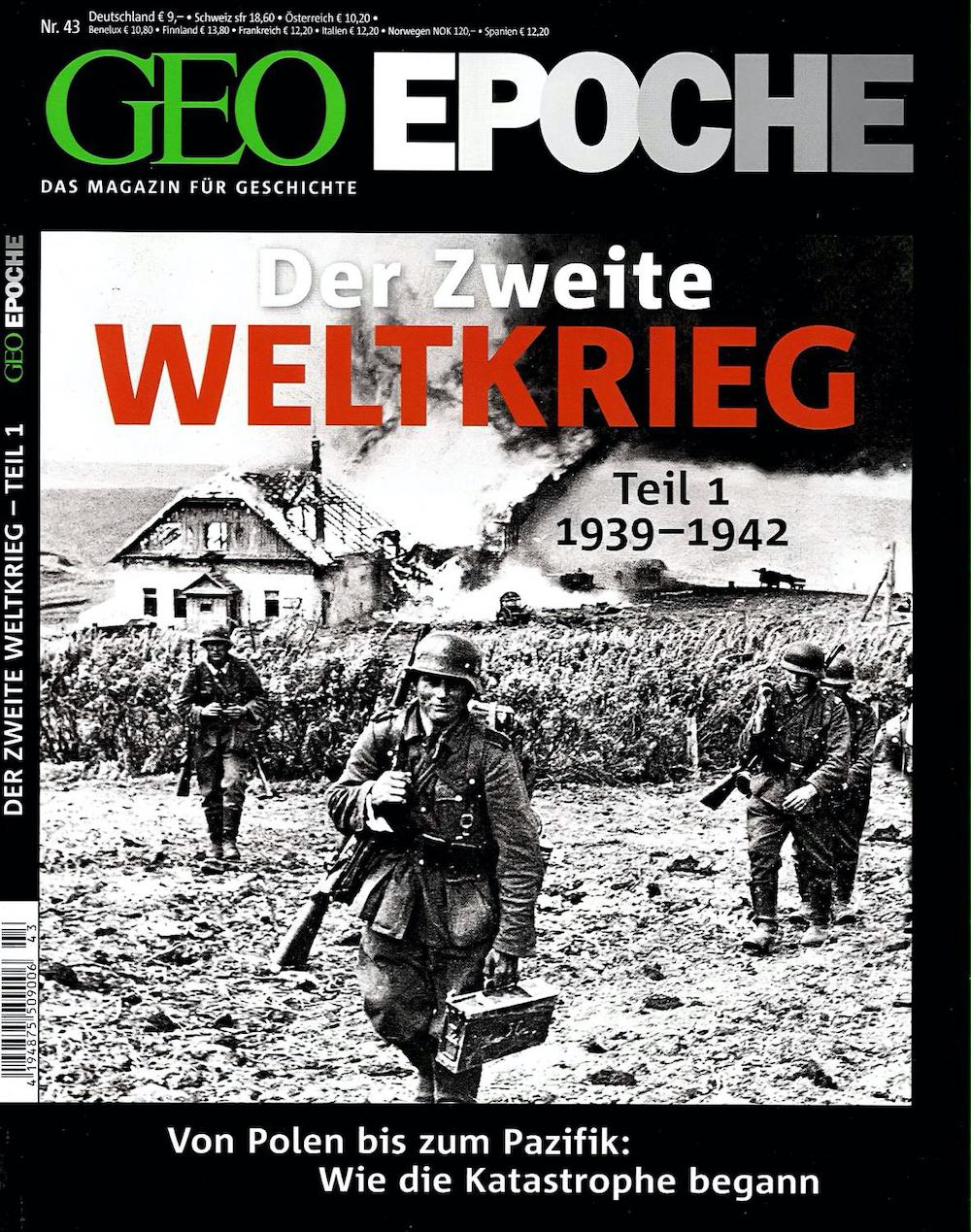 GEO Epoche 2010-43 Der Zweite Weltkrieg - Teil 1
