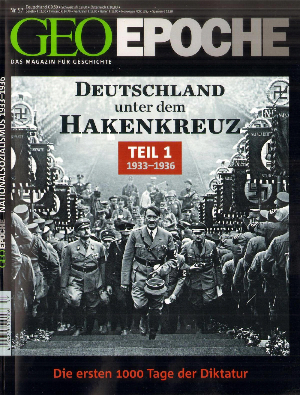 GEO Epoche 2013-57 Deutschland unter dem Hakenkreuz - Teil 1