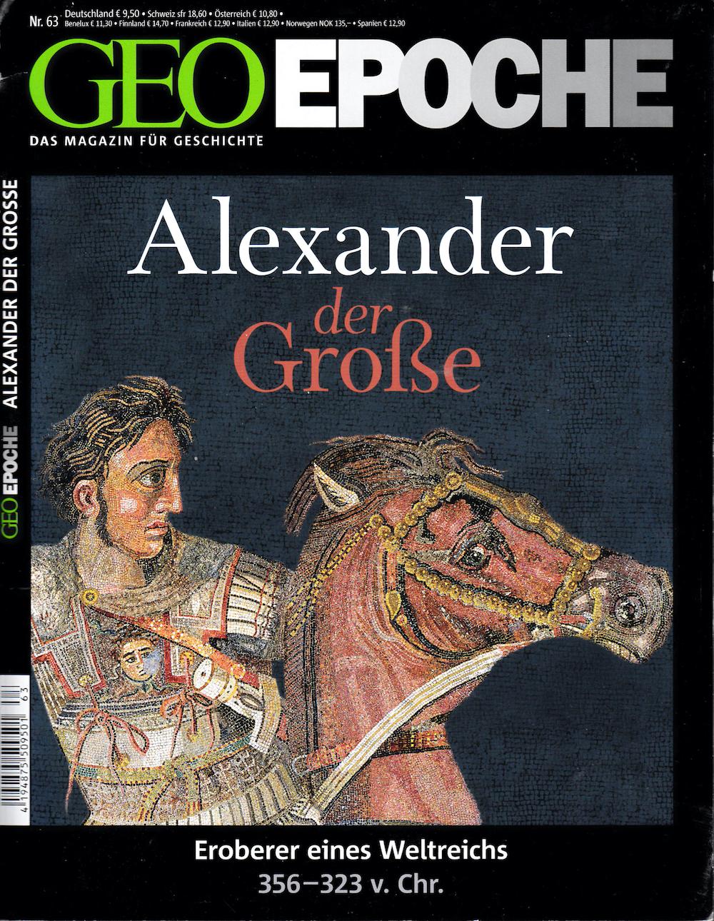 GEO Epoche 2014-63 Alexander der Grosse
