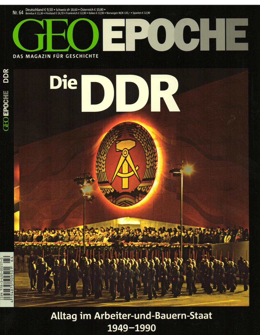 GEO Epoche 2014-64 Die DDR