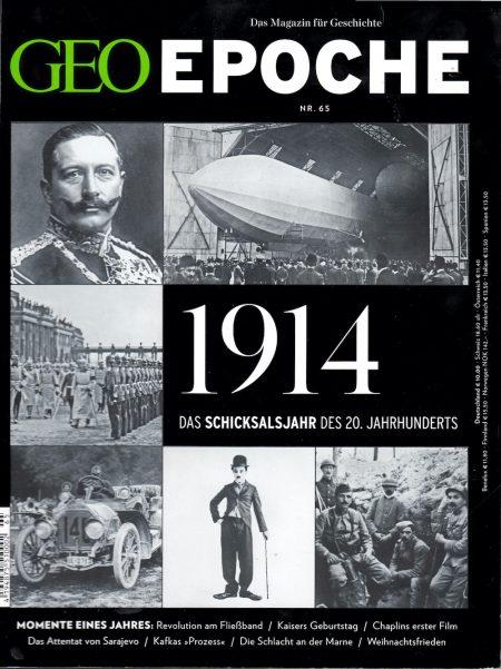 GEO Epoche 2014-65 Das Jahr 1914
