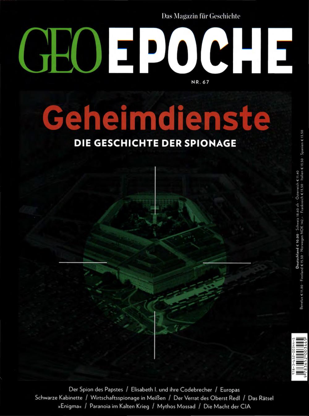 GEO Epoche 2014-67 Geheimdienste