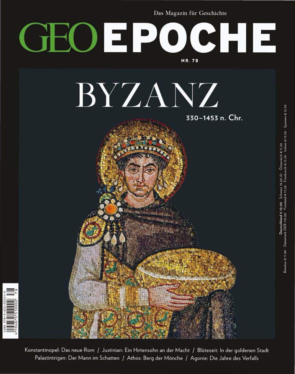 GEO Epoche 2016-78 Byzanz