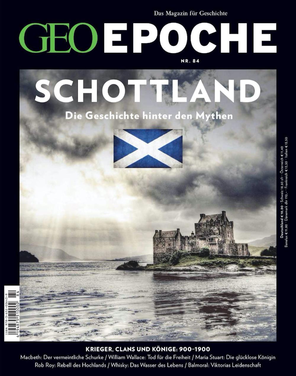 GEO Epoche 2017-84 Schottland