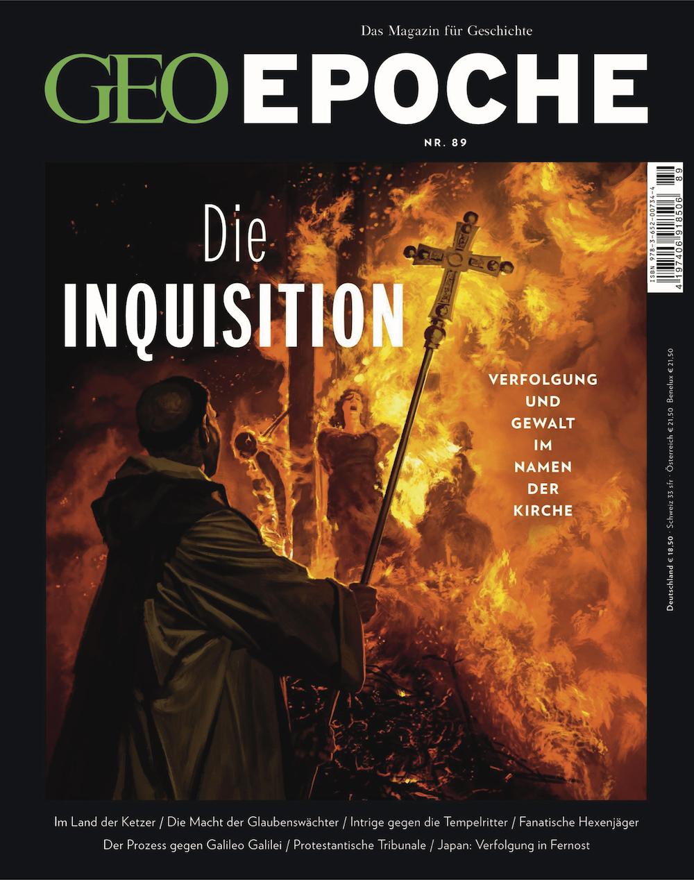 GEO Epoche 2018-89 Die Inquisition